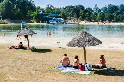 Ile de loisirs de Cergy (95). Photo © Cyril Badet pour IDL, Aou