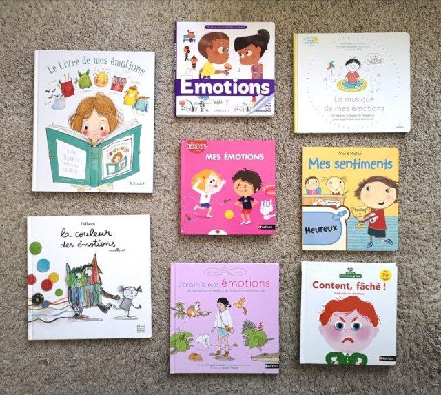 Selection De Livres Sur Les Emotions Ma Vie Trepidante De Maman