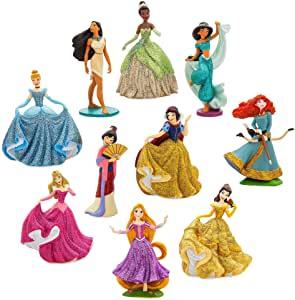 Disney Store Coffret Deluxe de Figurines Princesses sirène Ariel - Ensemble 10 pièces